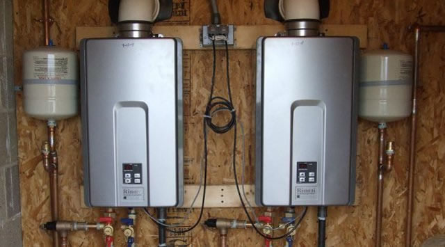 Tankless Water Heater Basement